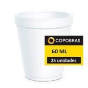 Copo Térmico Isopor 60Ml Caixa C/25 UNIDADES