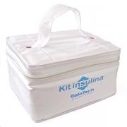 Kit Transporte Insulina 250ml com Gelo Artificial Flexível