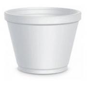 Pote Plástico EPS Térmico Branco 360ml PT 25 UN Copobrás