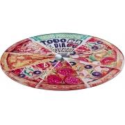 Prato Giratório, Haüskraft, Estampa Pizza, 30cm