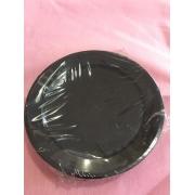 Prato Para Sobremesa Cristal preto 15,5 m-50 un