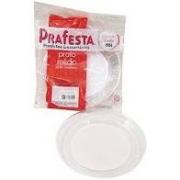 Prato Redondo Médio Cristal Para Sobremesa- Prafesta