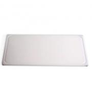 Tábua Plástica De Corte Com Canaleta  Branco 30X50X1,5 SOLRAC