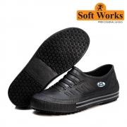 Tênis Profissional Soft Works Antiderrapante Bb81 Preto N°38