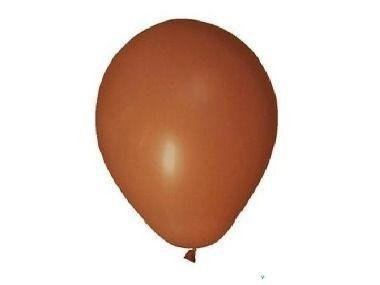 Balão de Látex Redondo nº 09- Marrom