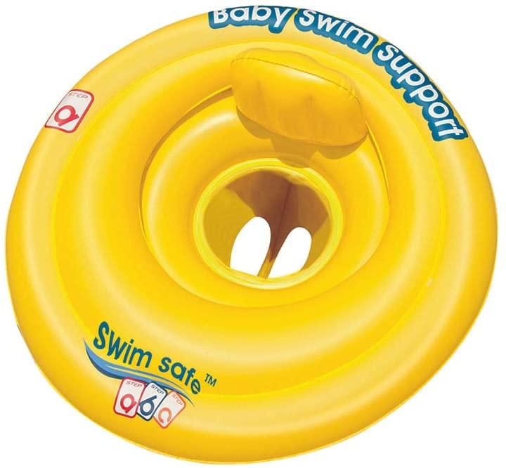 "Bóia circular swim safe passo""a"" 69cm estilo fralda - Bel Lazer"