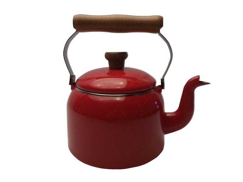 Chaleira Tradicional 16 Esmaltada Vermelha - 1800 ml - Ewel, Mãe Ágata