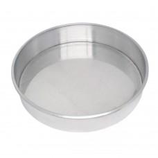 Forma Redonda fundo fixo alumínio 25x5cm Roldan