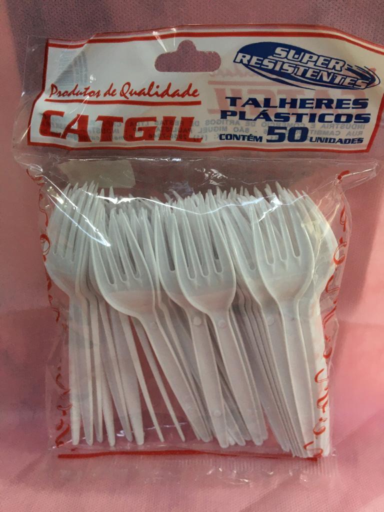 Garfo  Refeição C/50  Branco-Catigil