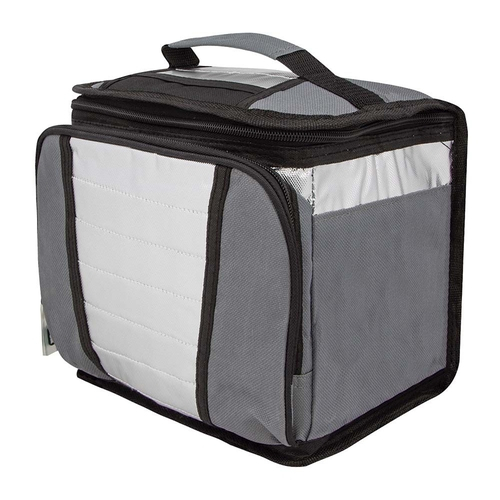 Ice Cooler 7,5 Litros Mor - Bolsa Térmica - Cinza