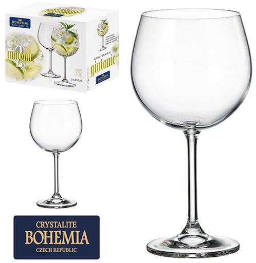Jogo De 2 Taças Gin - 620ml Bohemia Royal Crystal-HAÜSKRAFT