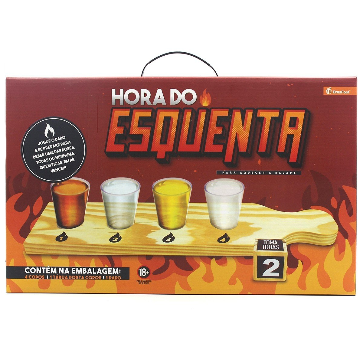 Kit Hora do Esquenta Brasfoot