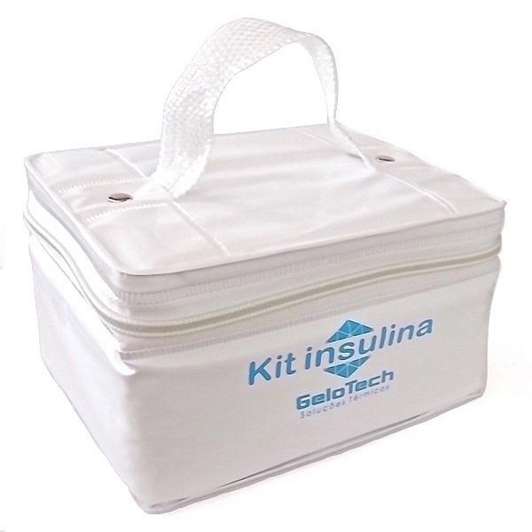 Kit Transporte Insulina 500ml com Gelo Artificial Flexível