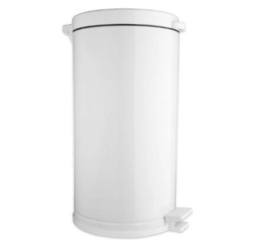 Lixeira Cozinha 15 Litros C/ Pedal E Recipiente Plástico