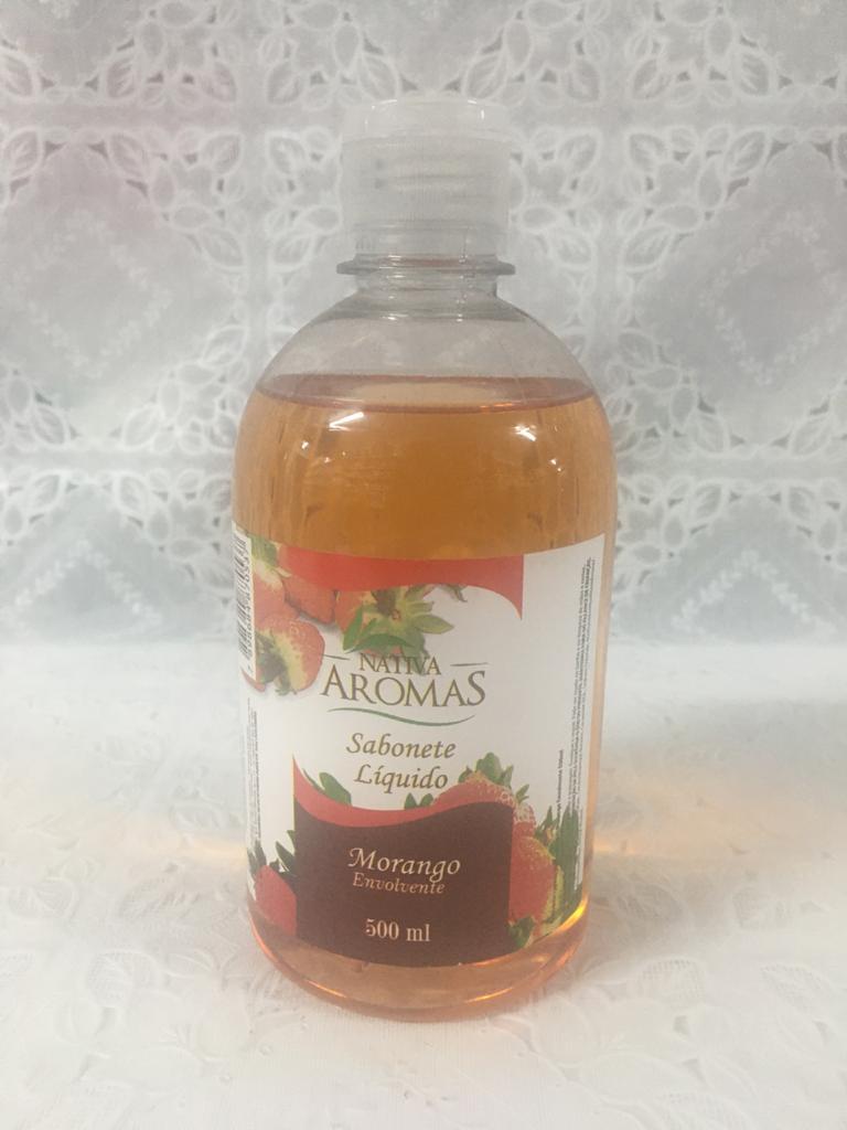 Sabonete Liquido 500 gramas- Morango