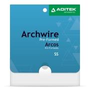 Arco de Aço Inferior Retangular c/10 und - Aditek