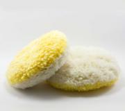 Boina de Polimento Dupla face Branca/Amarelo - Imperial