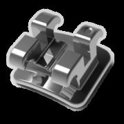 Braquete Reposição Atua Mini Roth Aço Slot 0,22 20Und - Universo Odonto