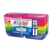 Caixa para aparelho ortodôntico 10und - Ssplus