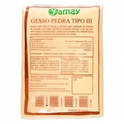 Gesso comum tipo III base 1kg - Yamay