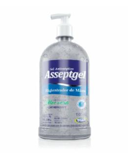 Alcool gel 70º Asseptgel Cristal - Start