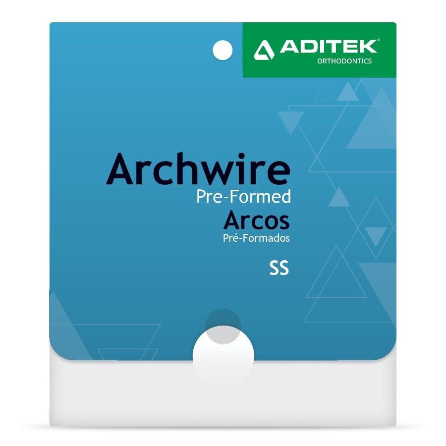 Arco de Aço Inferior Redondo c/10und - Aditek