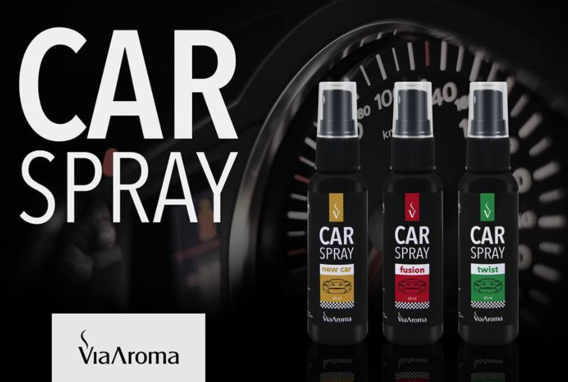 Car Spray Odorizador Para Carro 60ml - Via Aroma