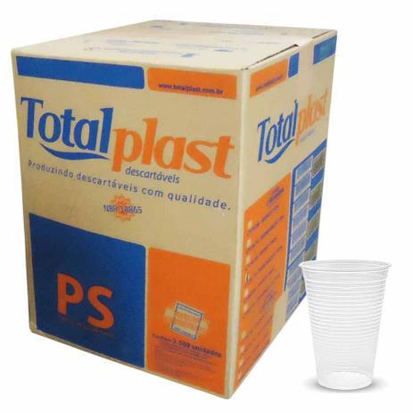 Copo Descartável Cx 2.500und - TotalPlast