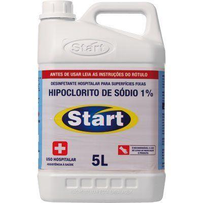 Desinfetante Hospitalar e Clínico Hipoclorito de sódio 1% - Start