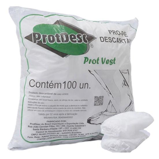 Pro pé Descartável 30G 100und - Protdesc