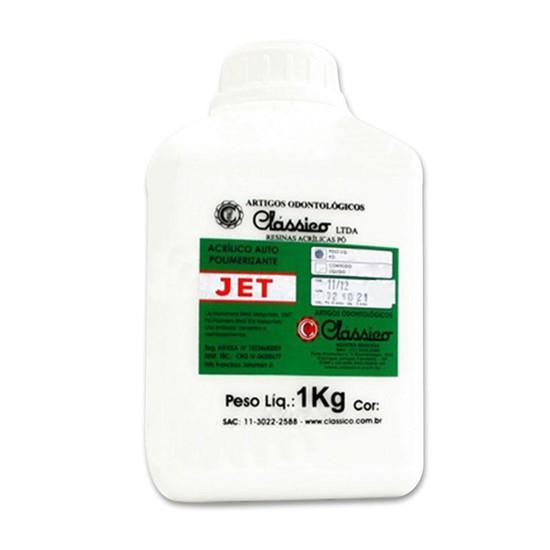 Resina Acrílica Autopolimerizável em Pó Jet - Clássico