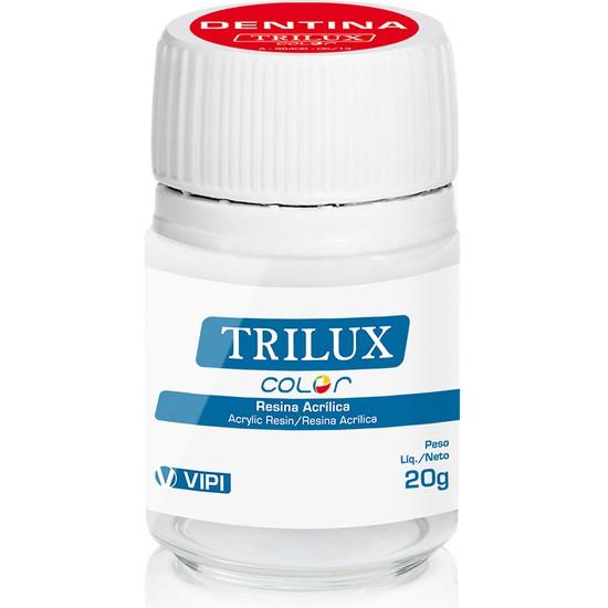 Resina Acrílica Trilux Color Dentina 20g -VIPI