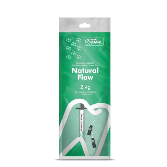 Resina Natural Flow - Nova DFL