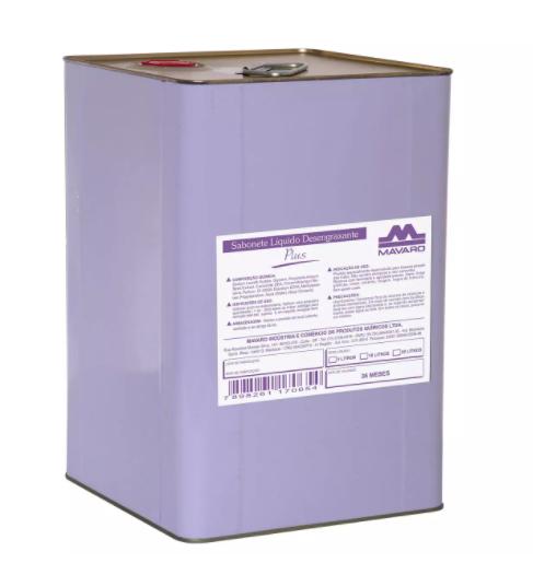 Sabonete líquido desengraxante Plus sem abrasivo - Mavaro