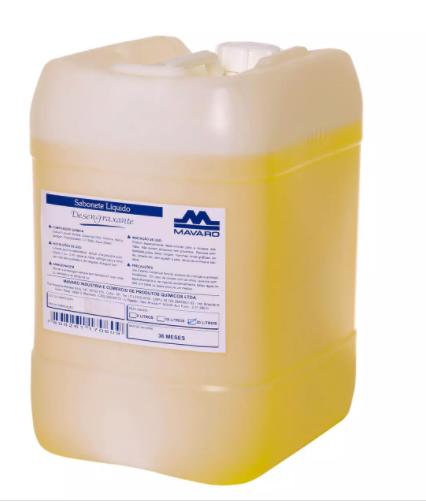 Sabonete desengraxante líquido sem abrasivo - Mavaro