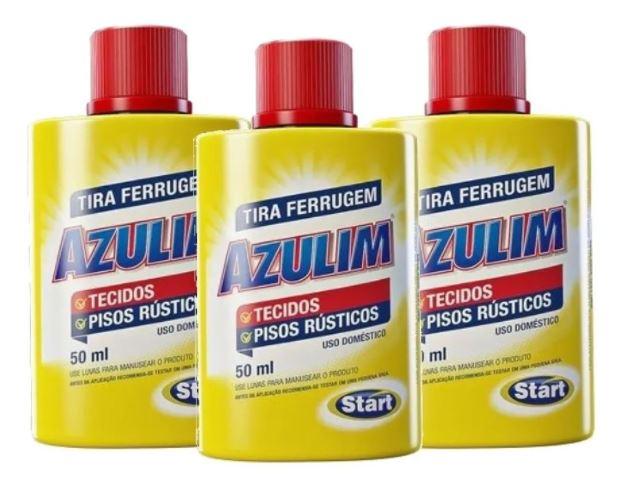 TIRA FERRUGEM PISO E TECIDOS 50ml - AZULIM