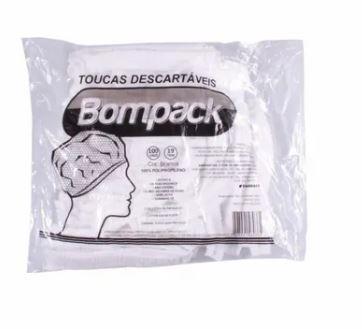 Touca de naylon preta - Bompack