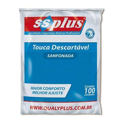 Touca Descartável Branca - SSPlus