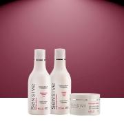 Kit Sensive Nutritivo  Shampoo + Condicionador Sensive - 300 ml e Máscara Sensive - 250g