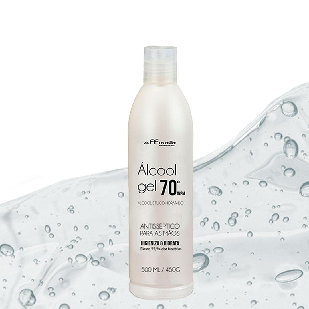 Alcool gel 70 -  Antisséptico para as mãos