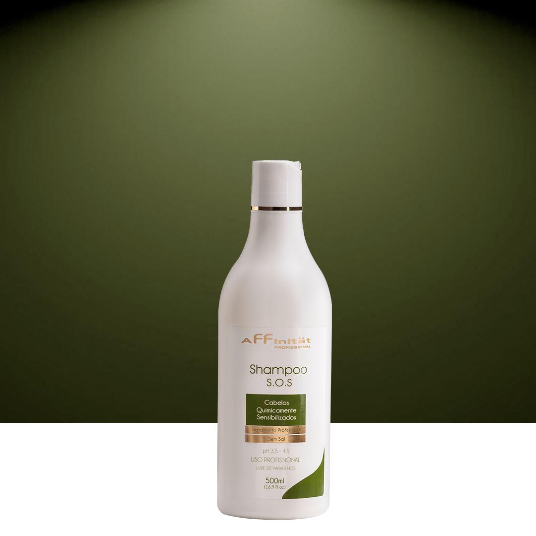 Shampoo S.O.S Pós Química Sem Sal 500 ml