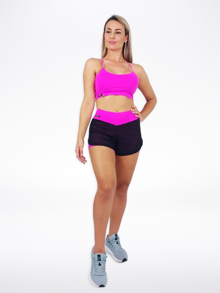 Shorts Duplo Pink