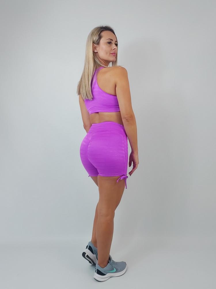 Shorts Empina Bumbum Diamante Pink
