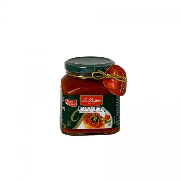 Bruschetta De Pimentão Com Jalapeño