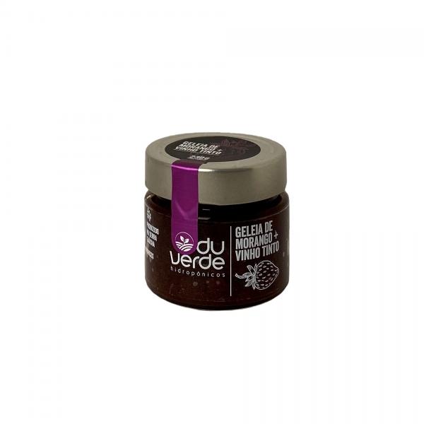Geleia de Morango + Vinho Tinto
