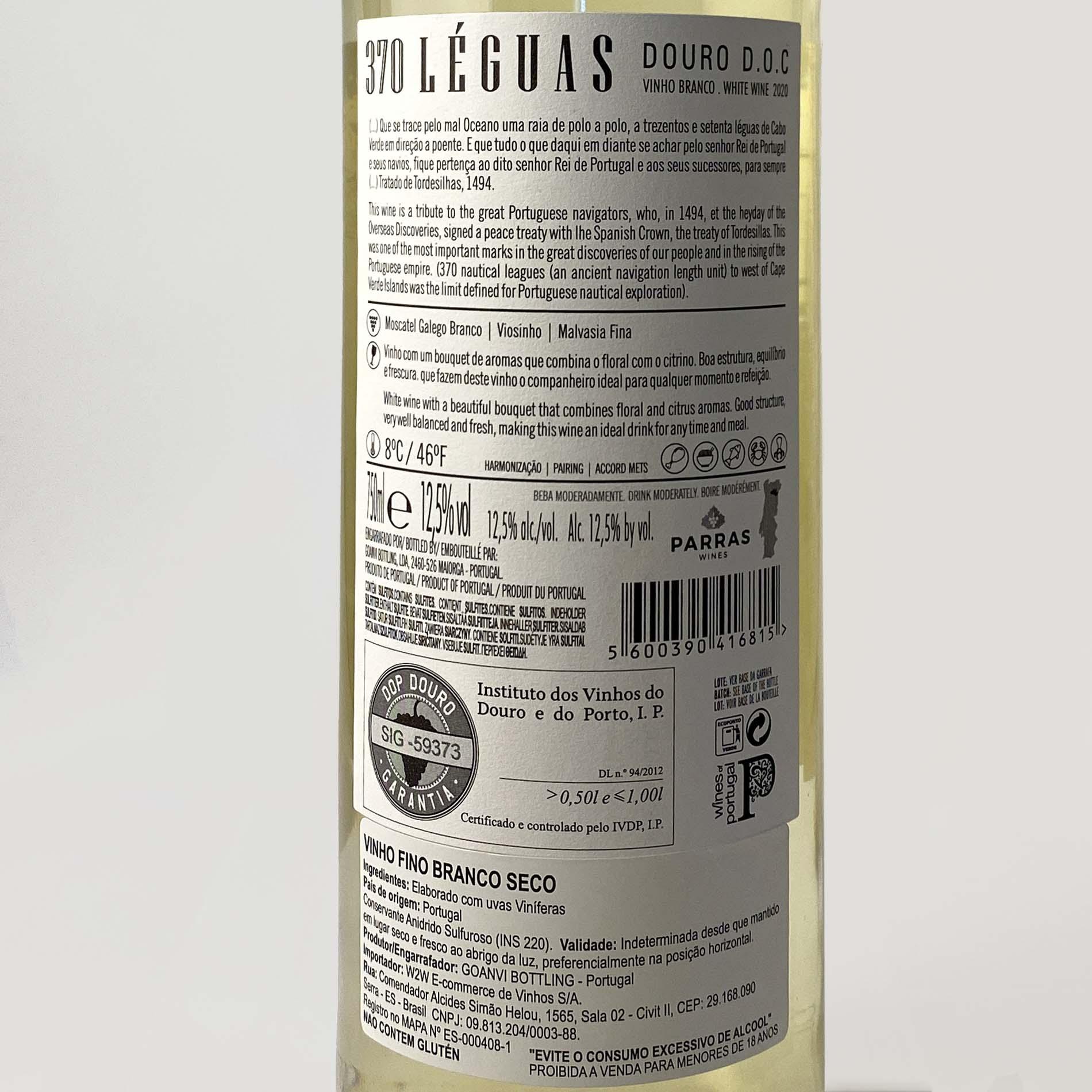 370 Leguas D.O.C. Douro Branco  - Vinerize