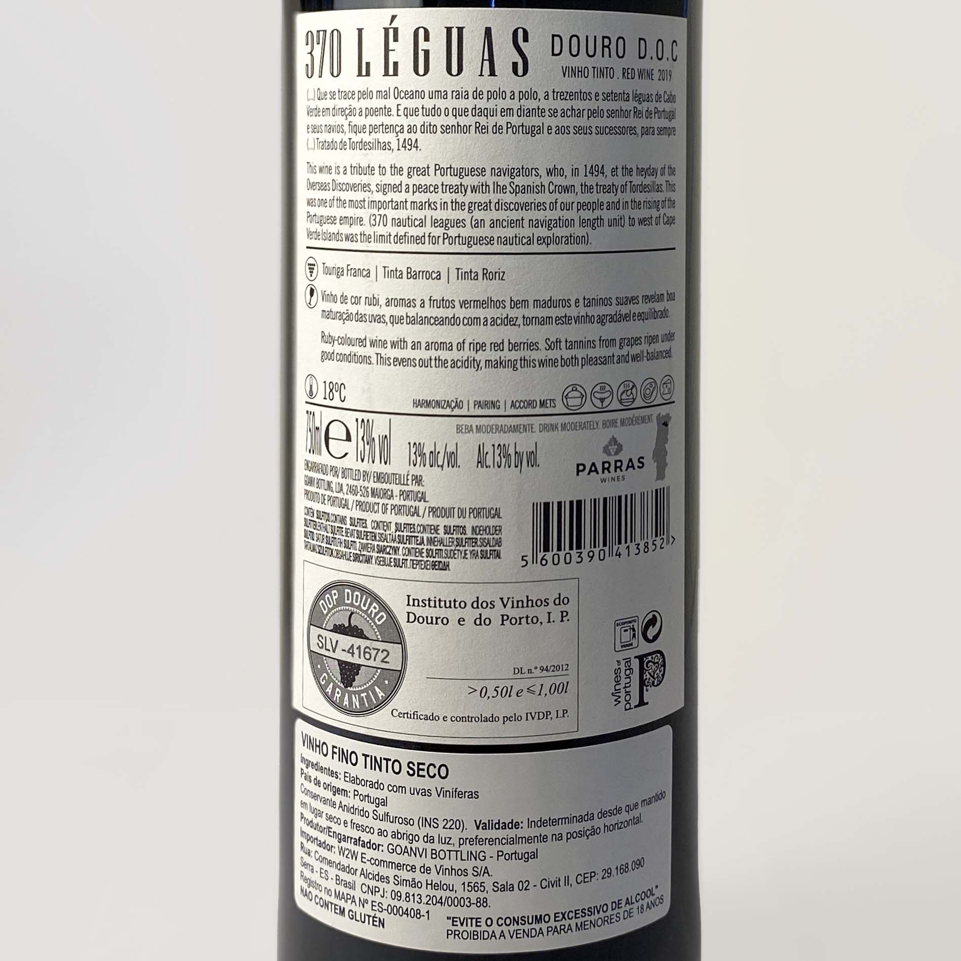 370 Leguas Doc Douro Tinto  - Vinerize