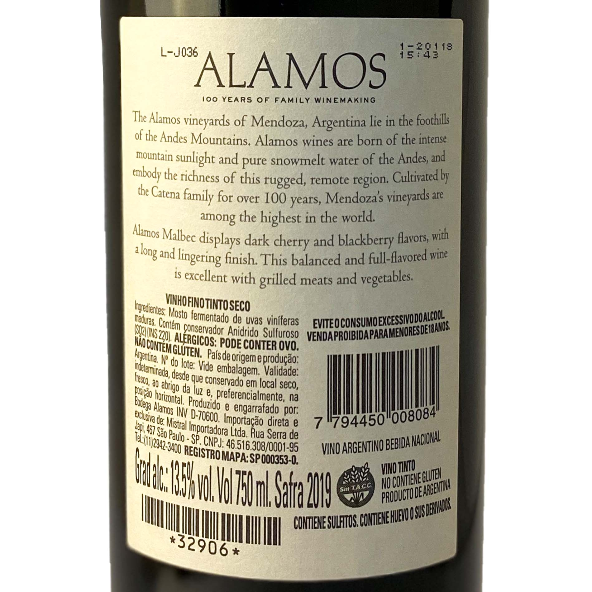 Alamos Malbec  - Vinerize