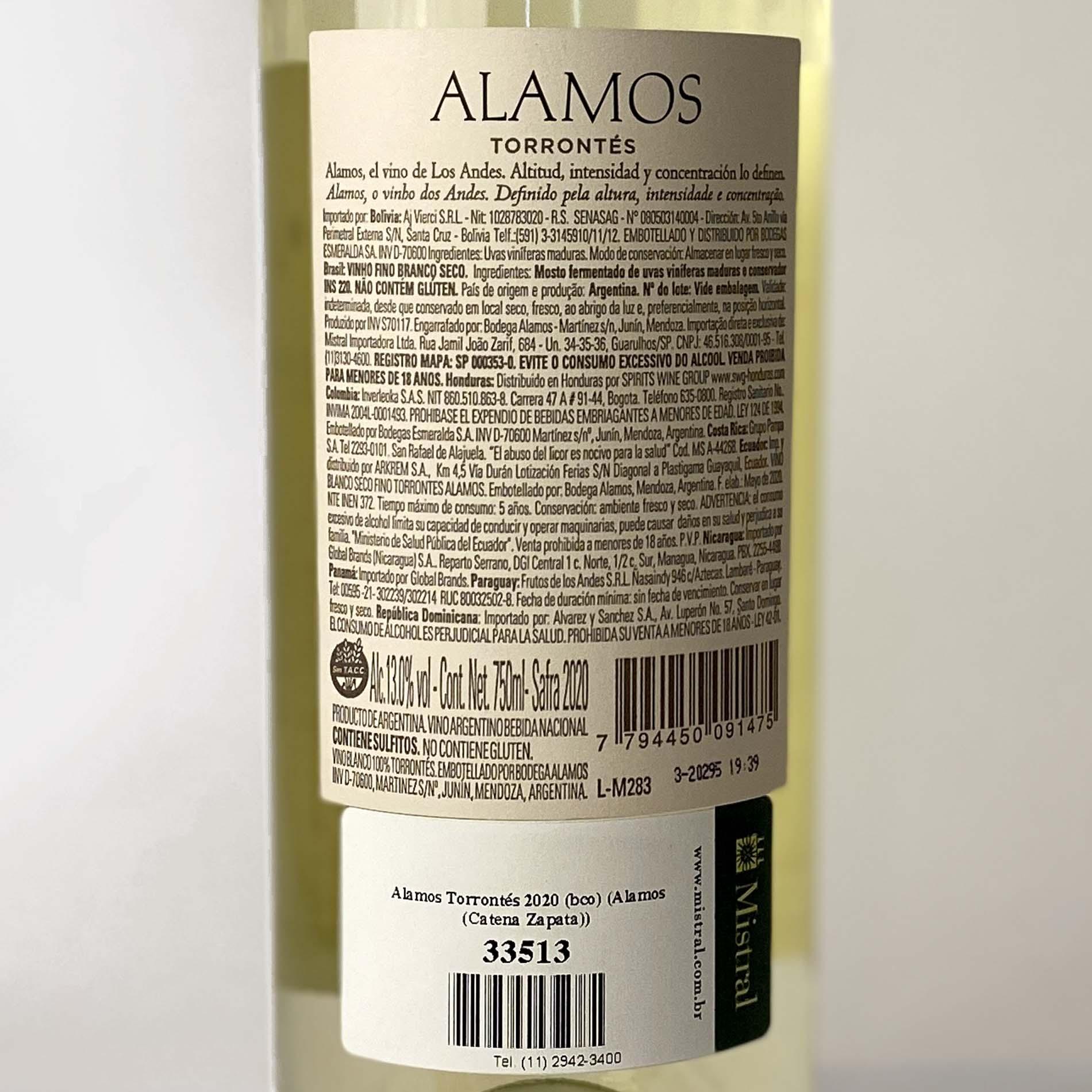 Alamos Torrontés  - Vinerize