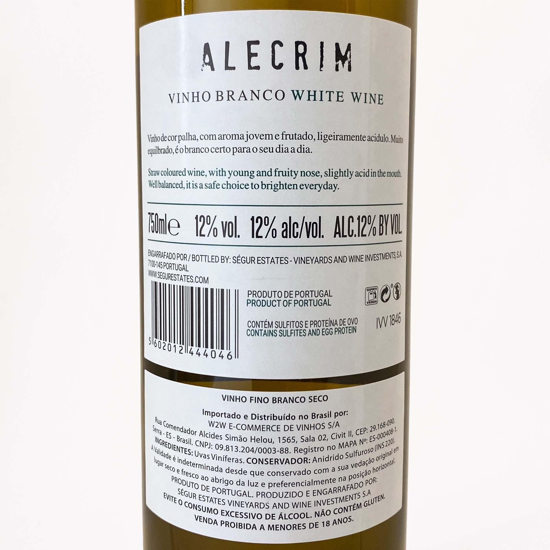 Alecrim Branco  - Vinerize